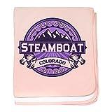 CafePress - Steamboat Violet - Baby Blanket, Super Soft Newborn Swaddle