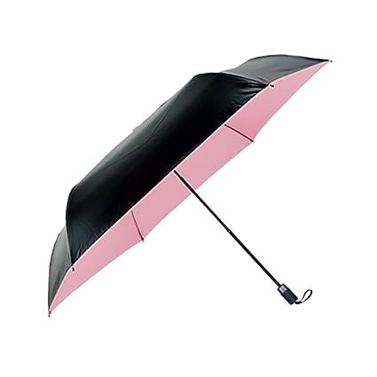 Paraguas viaje bolsillo plegable Al aire libre a prueba de viento anti-UV Parasoles de