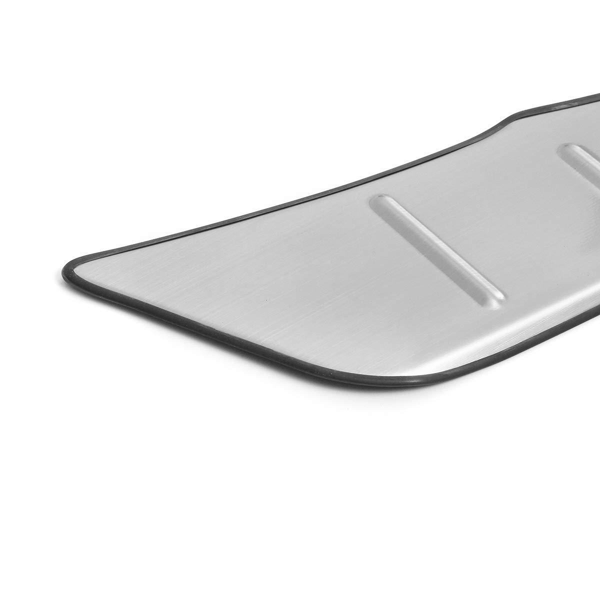 AAlamor en Acier Inoxydable Arri/ère Coffre Pad Roue Fender Accessoires De Voiture pour Toyota Chr 2016-2018