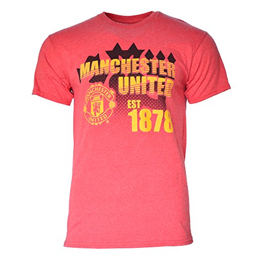 Manchester United Logo Mens Graphic T Shirt (S)