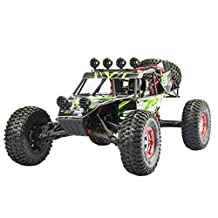RC Cars, HUKOER Desert Off-Road Truck FY03 Fast Race Cars 1:12 Full Scale Racing 4WD ELECTRIC POWER BUGGY 2.4G Radio Remote Control Off Road Car (Green)