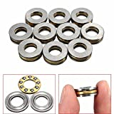 10pcs F8-16M 8x16x5mm Axial Ball Thrust Bearing 8mm x 16mm x 5mm