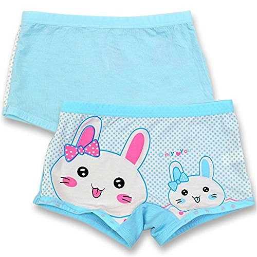BOOPH Girls Boyshort Hipster Panties Kids Underwear 10 of Pack 3-10t by BOOPH (Image #2)