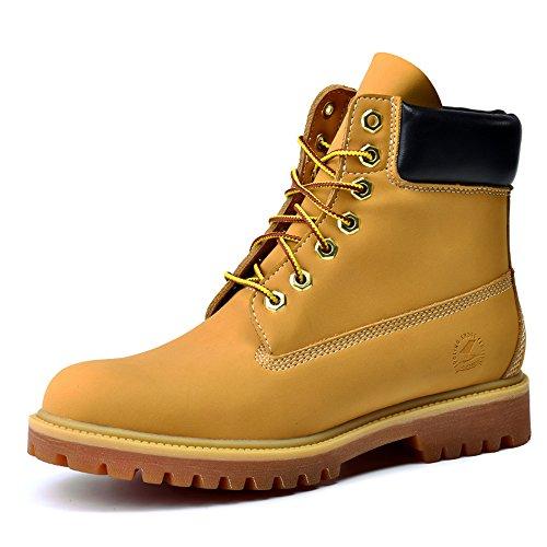 Women's Boots Yellow Resistant Super Fiber Military Boots Waterproof Work 11gaqOxw