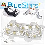 DC47-00019A & DC47-00018A & DC96-00887A Dryer Heating Element And Thermostat Replacement Kit by Blue Stars - Exact Fit For Samsung & Kenmore Dryers