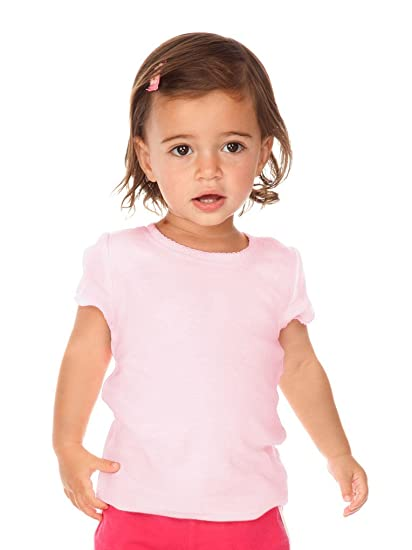 fb27069e31e635 Amazon.com: Kavio! Infants Scalloped Scoop Neck Top: Infant And ...