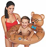 lil swimmers - BigMouth Inc Beary Cute Lil' Water Float - Pool Float for Infants and Kids Ages 1-3, Perfect for Beginner Swimmers, Easy to Inflate and Durable