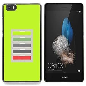 Stuss Case / Funda Carcasa protectora - Oficina Verde Modelo abstracto - Huawei Ascend P8 Lite (Not for Normal P8)