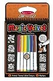 Melissa & Doug On the Go Magic Velvet Pattern-Reveal Activity Kit - Animals