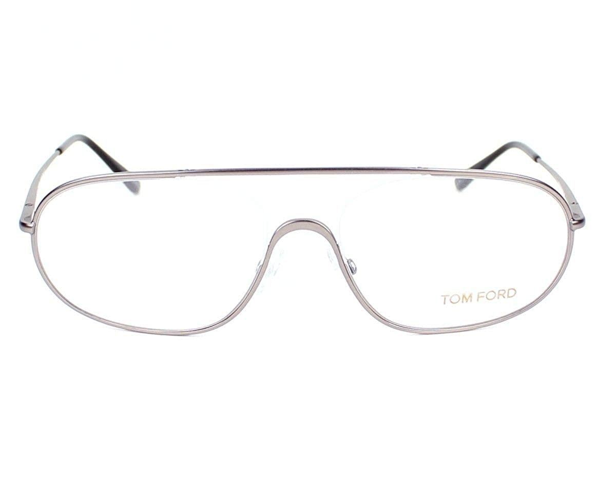 9ad88ba4a31 Tom Ford Unisex FT5155 Matte Ruthenium- Eyeglasses lenses 55 mm at Amazon  Women s Clothing store  Prescription Eyewear Frames