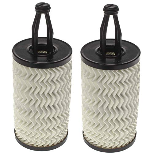 2 Pack Genuine 2761800009 Oil Filter Fits Mercedes-Benz E350 ML350 GLK350 C300 GLE350 S550 GL450 CLS550 GLS450 E400 C350 E550 GL550 (Best Oil Filter For Mercedes)