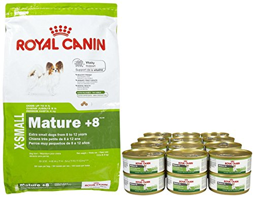 Royal Canin Size Health Nutrition X-Small Mature Bundle