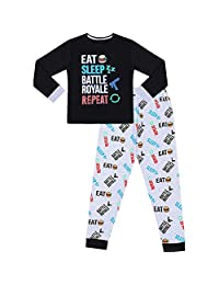 SamMoSon Baby Boys Girls Clothes Year 2019 Toddler Kids Baby Boys Letter T Shirt Tops Pants Pajamas Sleepwear Clothes Sets Black L