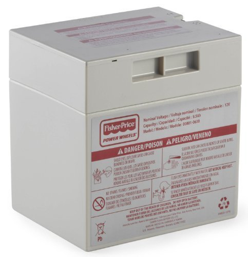 12V Battery for Ford Mustang P8195 Power Wheels Fisher Price by Power Wheels
