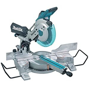 6. Makita LS1016L 10-Inch Dual Slide Compound Miter Saw with Laser