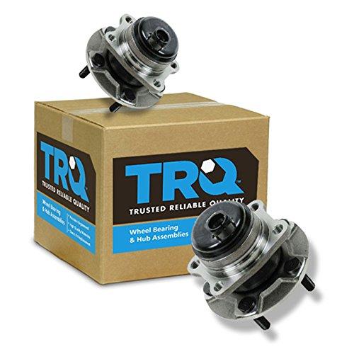 - TRQ Rear Wheel Hub & Bearing Assembly Pair for Grand Caravan Town & Country