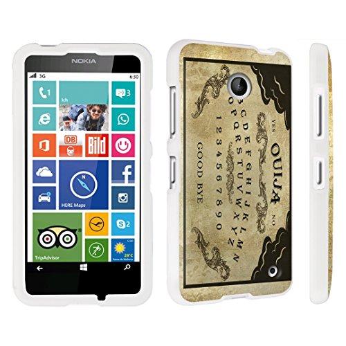 DuroCase ® Nokia Lumia 635 Hard Case White - (Ouija Board)