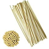 AIWANT Rattan Aroma Reed Diffuser Refill Stick 100 Pieces 30Cm/ 12 Inches X 3MM for Home Fragrance Diffusers