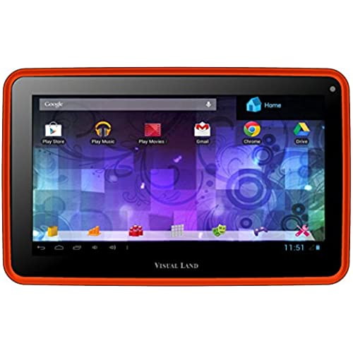 Visual Land Prestige 7G - 7 Single Core 8GB Android tablet with Google Play (Red Orange) Coupons