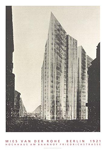 - Mies Van Der Rohe-Berlin, 1921-Hochhaus am Banhoff-Poster