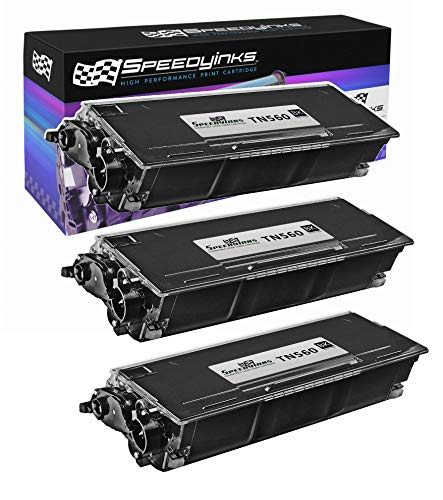 Speedy Inks Compatible Toner Cartridge Replacement for Brother TN560 High Yield (Black, 3-Pack)