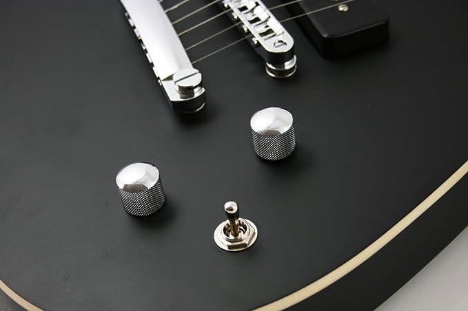 Lindo MEG-219BK Dark Defender - Guitarra eléctrica (caja de ...
