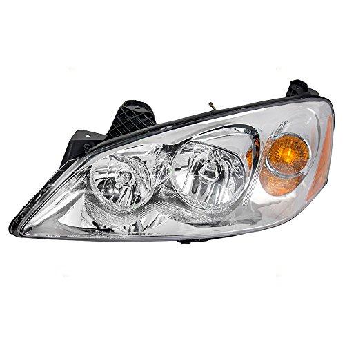 Drivers Headlight Headlamp Replacement for Pontiac 20821143 AutoAndArt