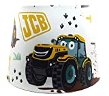JCB Digger Lampshade or Ceiling Light Shade Lamps Boys Bedroom Nursery Accessories Gifts Large 13' DUAL PURPOSE