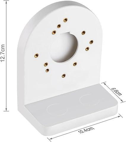Support de cam/éra d/ôme CCTV Accessoires /Étanche Support mural Maison ABS Support B/éb/é Moniteur Stable Stand de S/écurit/é Int/érieur Universel Pour Hikvision DS-1258ZJ