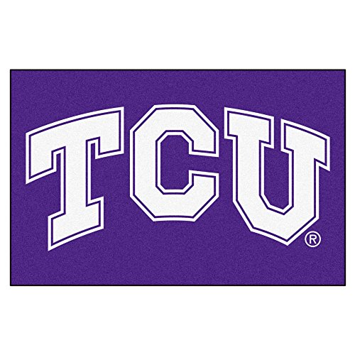 (Texas Christian University Logo Area Rug (Tailgater))