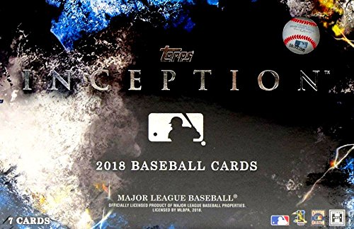 2018 Topps Inception MLB Baseball HOBBY box (7 cards) ()