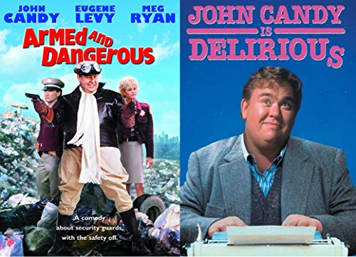 Armed and Outrageously Funny Two-Movie Comedy Pack starring John Candy in Delirious & Armed and Dangerous DVD bundle