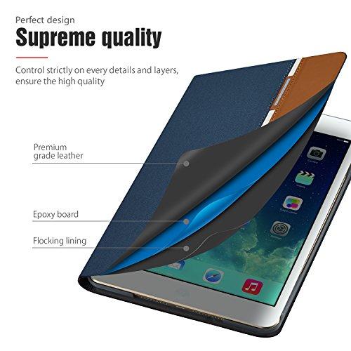 AUAUA iPad Mini 4 Case, iPad Mini 4 PU Leather Case with Smart Cover Auto Sleep/Wake +Screen Protector For Apple iPad Mini 4, 7.9 inch Apple Tablet (Mini 4, Brown) Photo #7