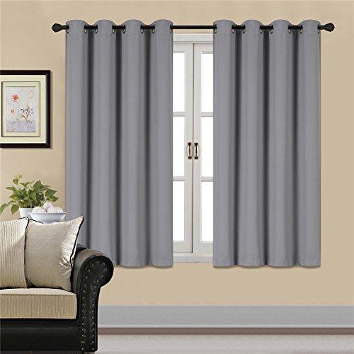yellow gray window curtains - 9
