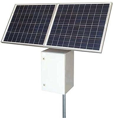 Tycon RPST1224-100-160 25W Remote Pro Power System 160W Solar Panel 12V 102Ah Battery 24V PoE