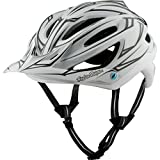 Troy Lee Designs A2 MIPS Helmet Pinstripe White/Reflective, M/L For Sale