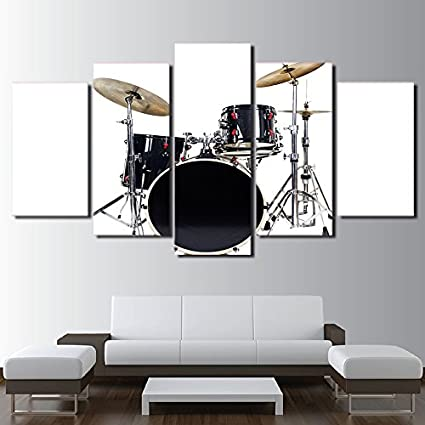 Amazon.com: HD Printed Modular Pictures Frame Modern Home Wall Art ...
