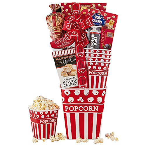 Wine Country Gift Baskets Family Movie Night Popcorn and - Wine Gift Popcorn Country Baskets