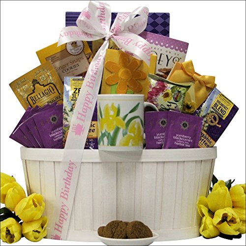Zen Blend: Coffee & Tea Birthday Gift Basket