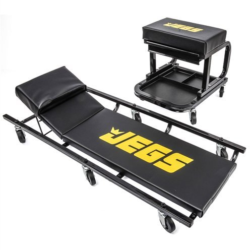 JEGS 81150 Creeper & Mechanic Seat Set by JEGS