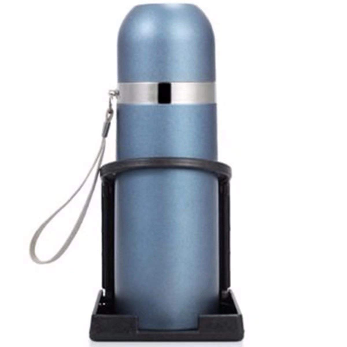 Linkstyle 2-Pack Universal Adjustable Folding Cup Drink Holder Car TRUCK BOAT VAN Home Plastic 99mm (Black)