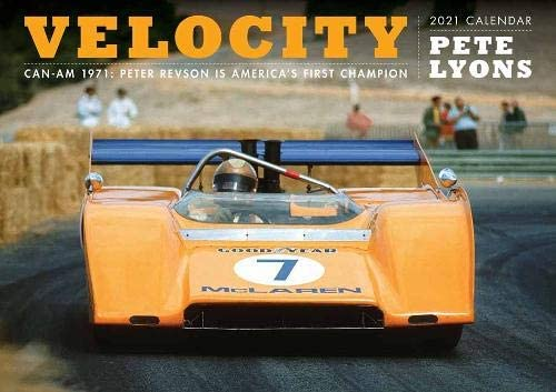 Velocity Calendar 2021: Can am's 1971 Race Season: Pete Lyons