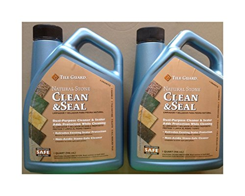 Tile Guard Natural Stone Clean and Seal, 1 Qt., Pack of (Seal Tile)