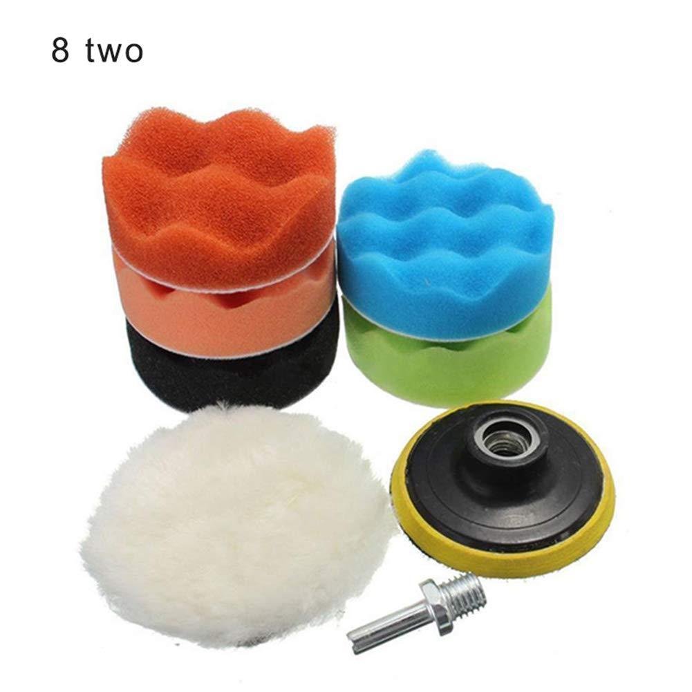 RollingBronze 5//7//8//11//19//22//31pcs Car Foam Dirll Polishing Wheel Pad Kit for Car Polisher Auto Accessories
