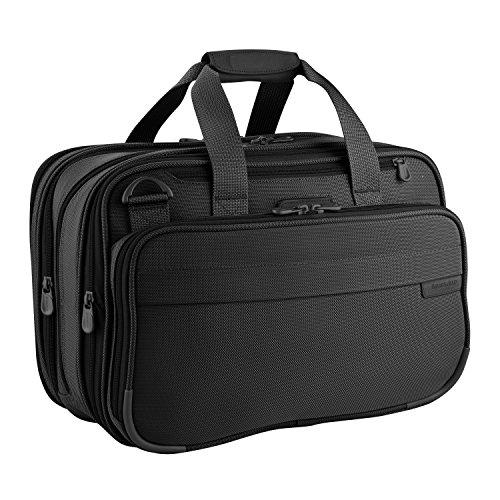 Briggs & Riley Baseline-Expandable Cabin Bag, Black, One Size