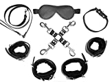 Quality Leather Bondage Set (Black)
