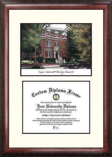 Campus Images VA983V Virginia Commonwealth University Scholar Diploma Frame, 11
