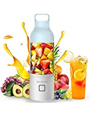 Portable Blender, Bariicare Personal Shakes Smoothies Blender, 20oz USB Rechargeable Small Travel Juicer Juice Mixer Cup