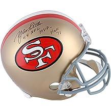 Y.A. Tittle San Francisco 49ers Autographed Throw Back Replica Helmet with 4x NFL MVP, HOF Inscriptions - Fanatics Authentic Certified