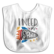Space I Need Funny Cotton Saliva Towel Infant Bibs Kids Girl Boy Baby Lunch Bib